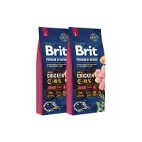 Pachet 2 x Brit Premium by Nature Junior L, 15 kg