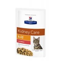 Hill's PD Feline k/d - Afectiuni Renale Somon, 85 g