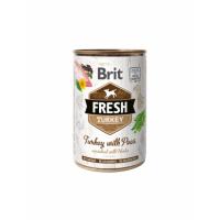 Brit Fresh Curcan&Mazare, 400 g