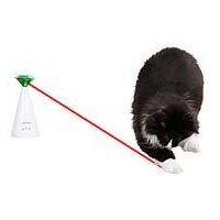 Jucarie Kerbl pentru Pisici Laser Rotativ, 10x10x21 cm