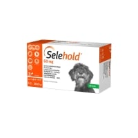 Selehold Spot On Dog 60 mg, 5.1 kg - 10 kg, 3 Pipete