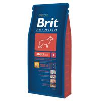 Hrana Caini Brit Premium Adult Large 15 Kg