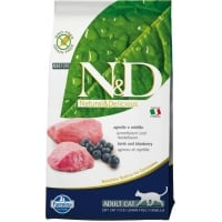 N&D Grain Free Cat Adult, Miel si Coacaze, 10 kg