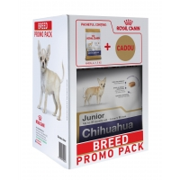 Kit Breed Royal Canin Chihuahua Junior, 1.5 kg+ Cadou