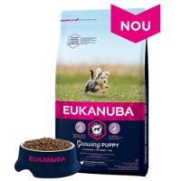 Hrana Uscata Pentru Caini Eukanuba, Puppy Toy cu Pui, 2 kg