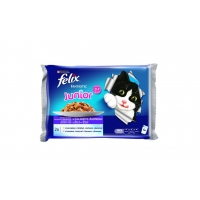 Felix Junior Multipack, 4 x 100 g