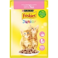 Friskies Cat Plic Junior Pui in Sos 85 g