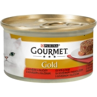 Gourmet Gold Savoury Cake cu Vita si Rosii, 85 g