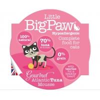 Pate Pentru Pisici Little BigPaw Cu Ton, 85 G