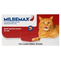 Milbemax Cat  16/40 mg (2-8 kg), 2 tablete