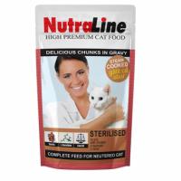 Nutraline Sterilised Plic 100 g