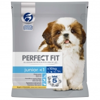 Perfect Fit Dog Junior cu Pui, 825 g