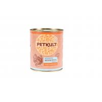 Petkult Sensitive Curcan si Cartofi, 800 g