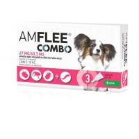 Pipete Antiparazitare Amflee Combo Caine S (2-10 kg), 3 Bucati