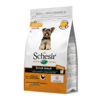Schesir Dog Adult Small cu Pui, 2 kg
