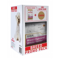 Kit Breed Royal Canin West Highland White Terrier, 1.5 kg+ cadou