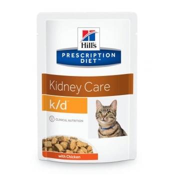 Hill's PD Feline k/d - Afectiuni Renale Pui, 85 g