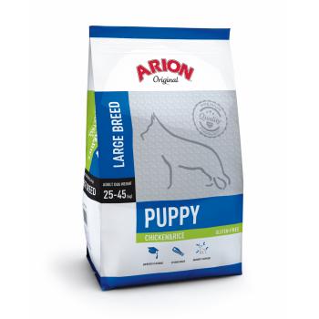 Arion Original Puppy Large Breed cu Pui si Orez, 12 kg