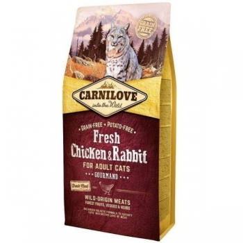Carnilove Fresh Chicken & Rabbit For Adult Cats 6 Kg
