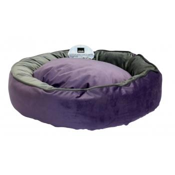 Cosulet pentru caini si pisici Ducato Violet / Gri L