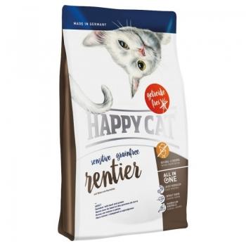 Happy Cat Sensitive Grain Free Adult, Caprioara, 4 kg