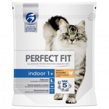 Perfect Fit Cat Indoor cu Pui, 750 g