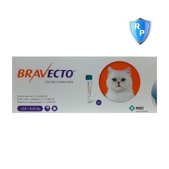 Bravecto Spot On Cat 2.8-6.5 kg, 250 mg, 1 pipeta
