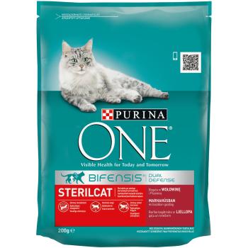 Purina ONE Steril Cat cu Vita si Grau, 200 g