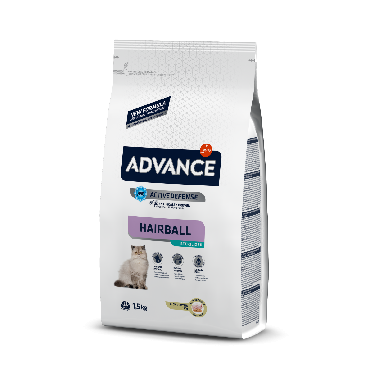 Advance Cat Sterilizat Hairball, 1.5 kg