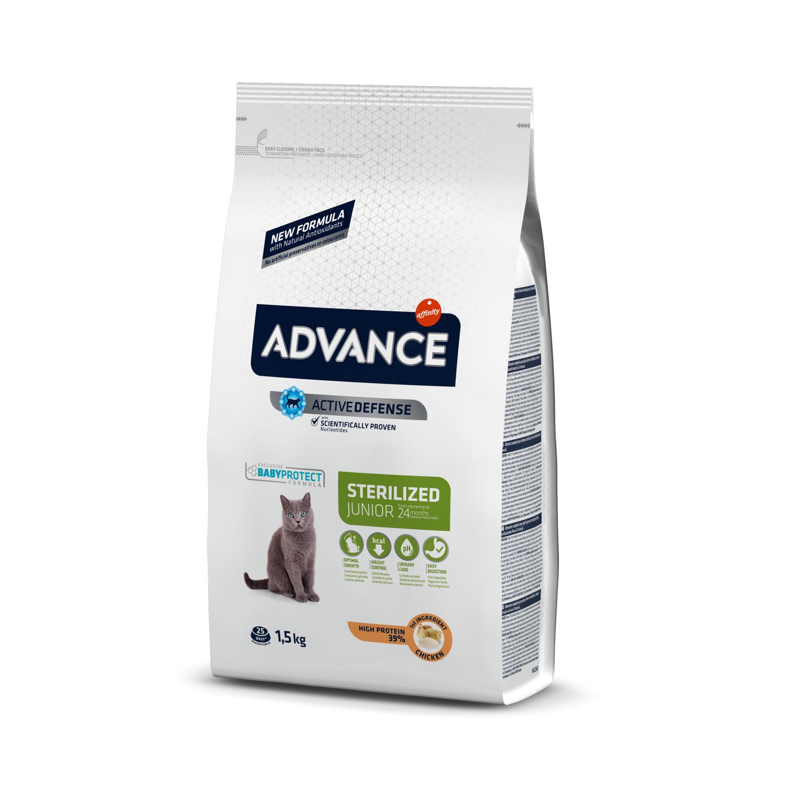 Advance Cat Young Sterilized, 1.5 kg