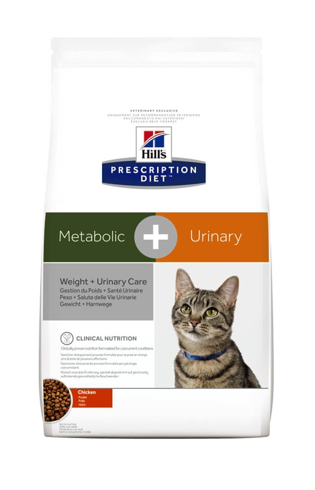 Hill's PD Feline Metabolic+Urinary, 1.5 kg