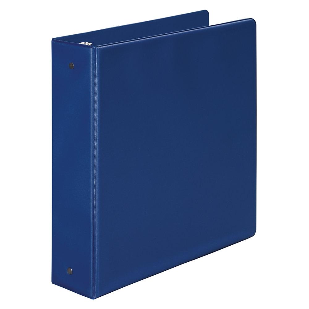 Caiet mecanic 2 inele, plastic PVC, A5, AURORA - albastru