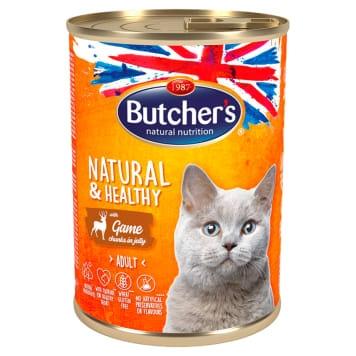 Butcher's Cat Natural & Healthy cu Vanat, 400 g