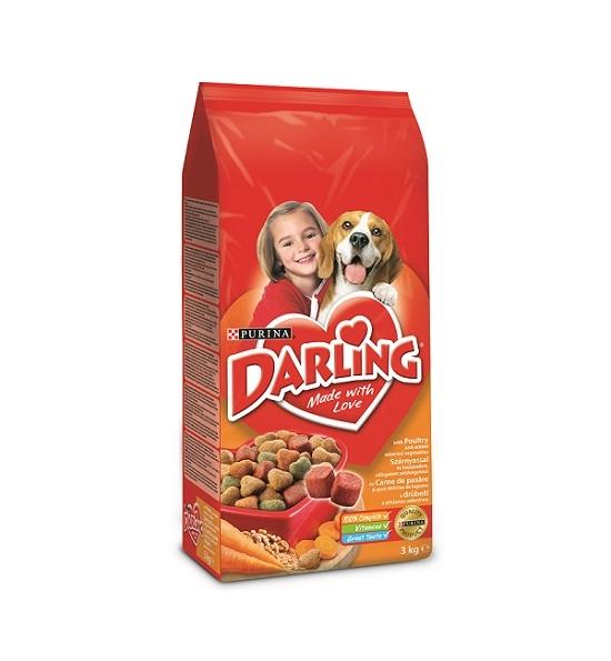 Darling Dog Pui si Legume, 3 Kg