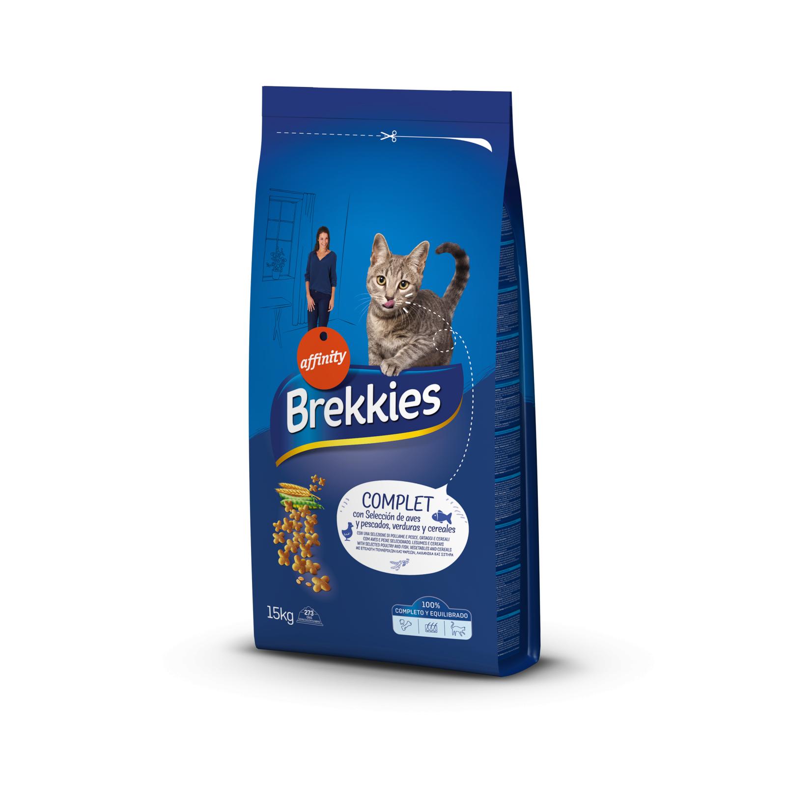 Brekkies Excel Cat Complete, 15 kg