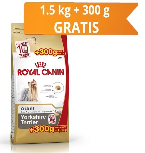 Royal Canin Yorkshire Adult 1.5 Kg + 300 g Cadou