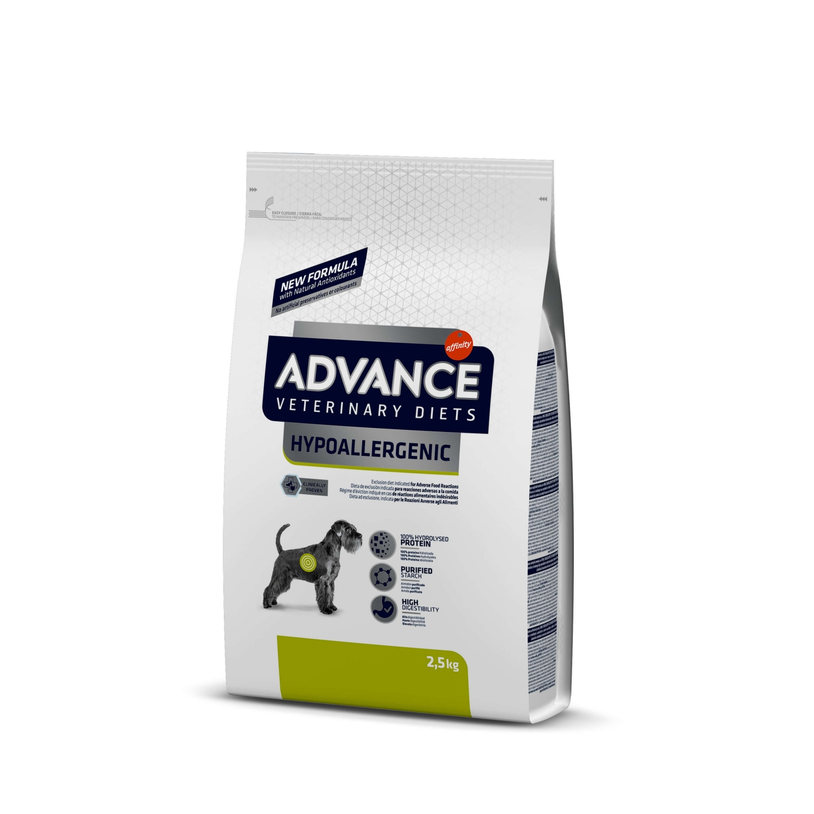 Advance VD Dog Hypoallergenic, 2.5 kg