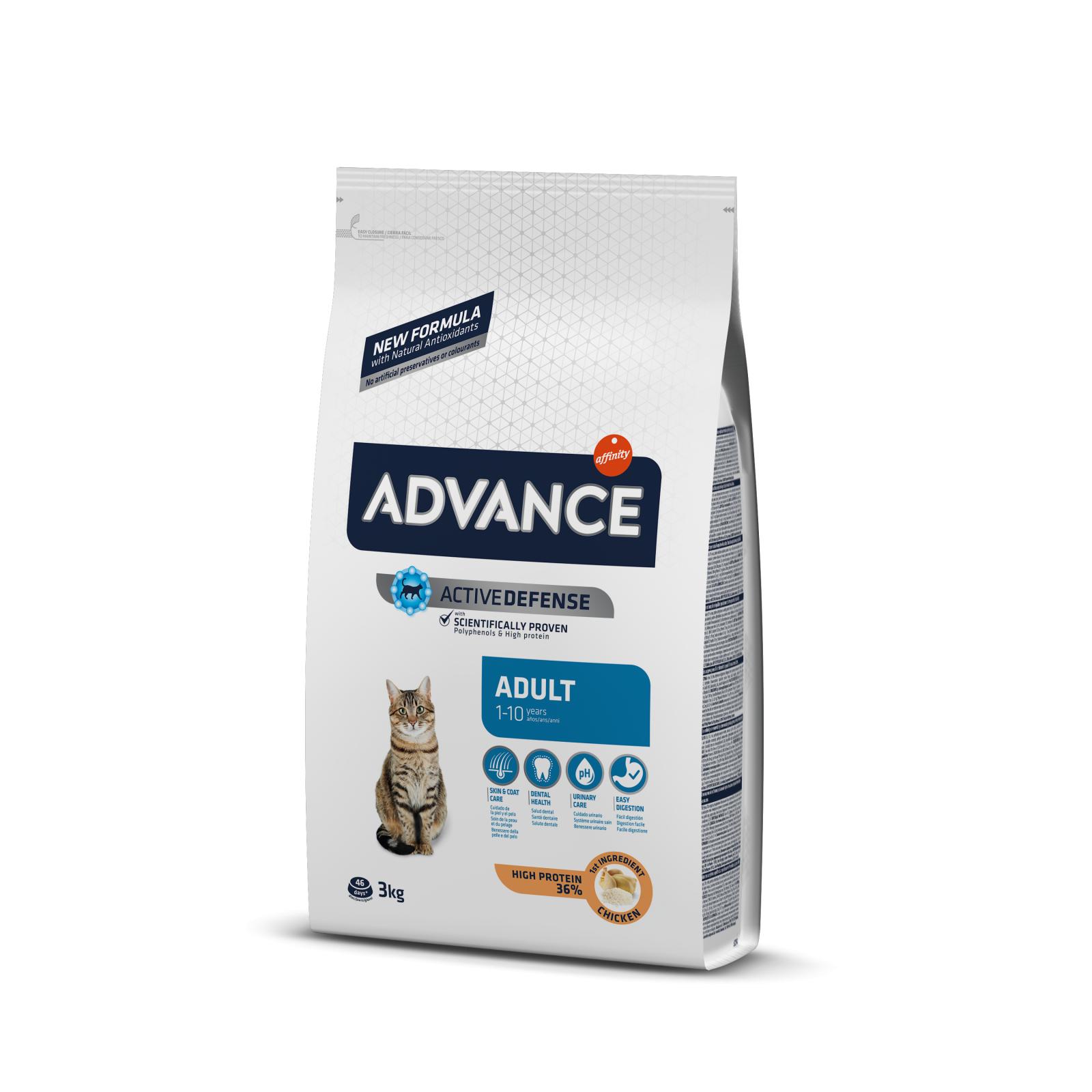 Advance Cat Adult Pui si Orez, 3 kg