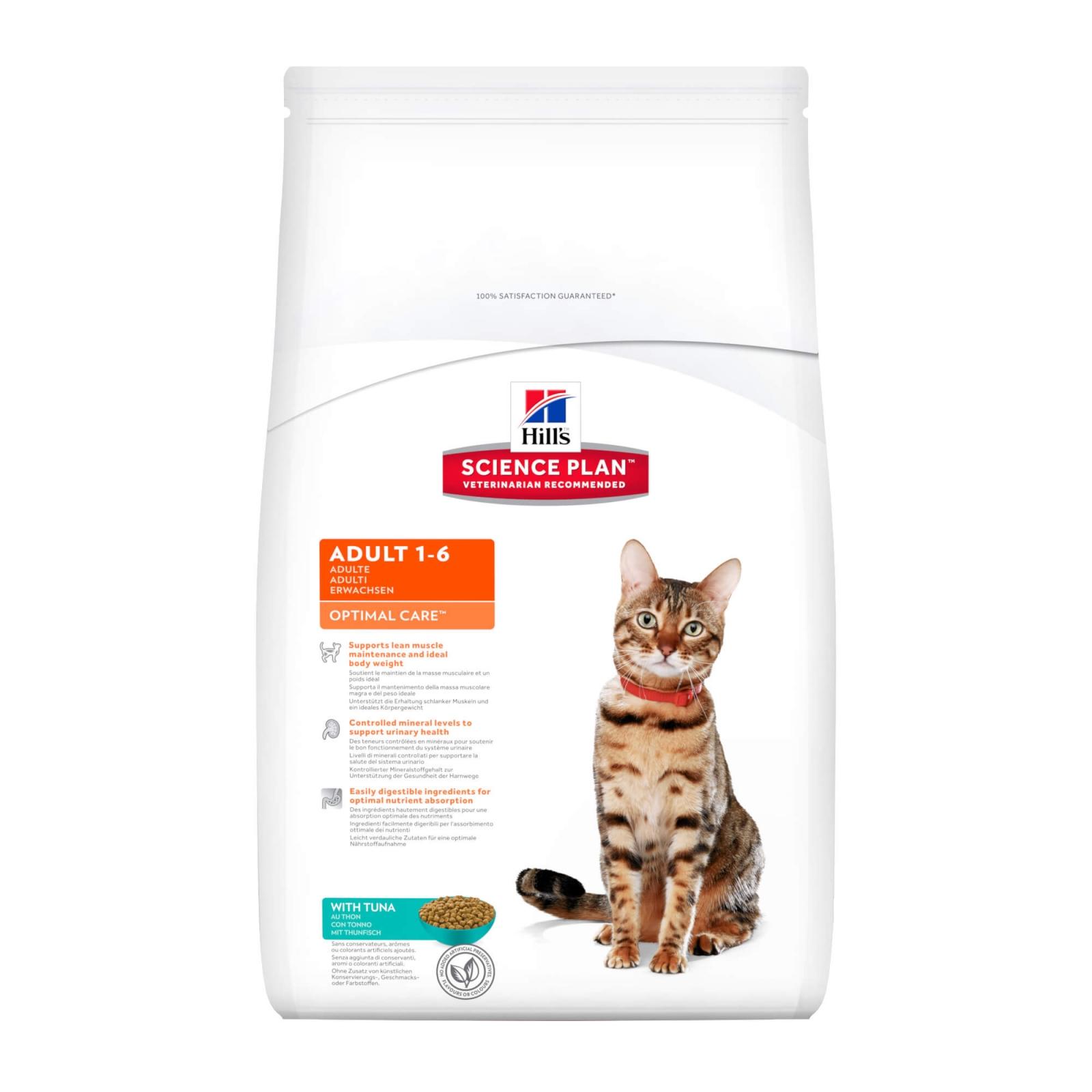 Hill's SP Feline Adult cu Ton, 400 g