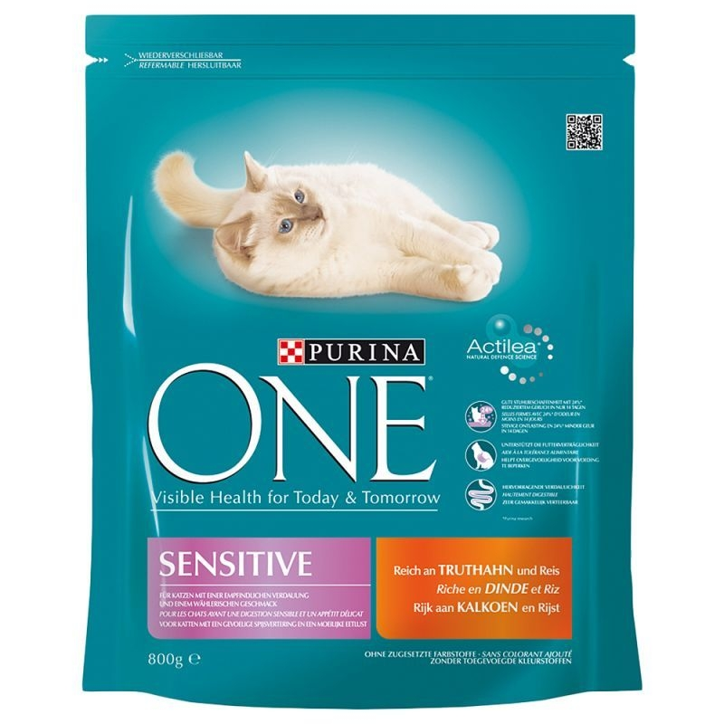 Purina ONE Sensitive, 800 g