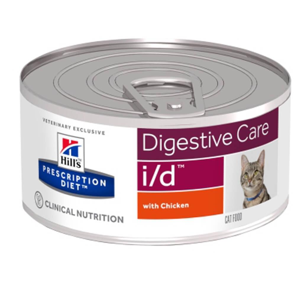 Hill's PD Feline i/d - Probleme Gastrointestinale, 156 g