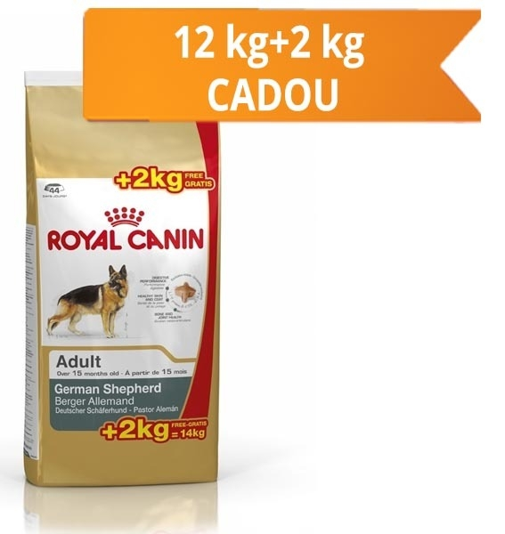 Royal Canin Ciobanesc German Adult, 12 kg + 2 kg Gratis
