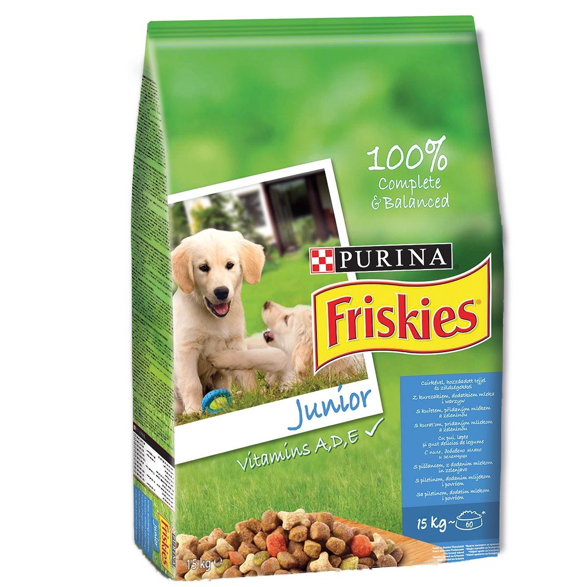 Friskies Dog Junior, 15 Kg