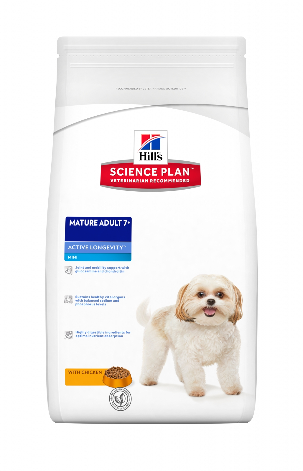 Hill's SP Canine Mature Adult +7 Mini cu Pui, 3 kg