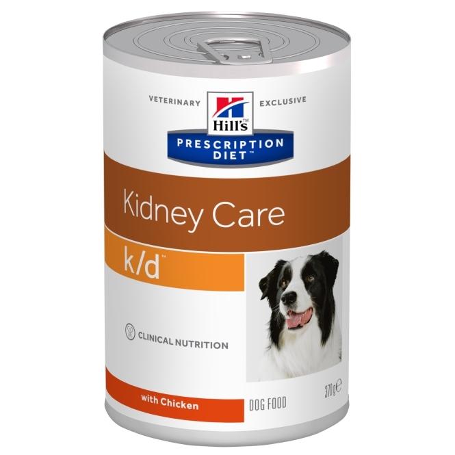 Hill's PD Canine k/d Afectiuni Renale, 370 g