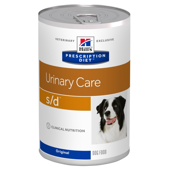 Hill's PD Canine s/d Dizolvarea Struvitilor, 370 g