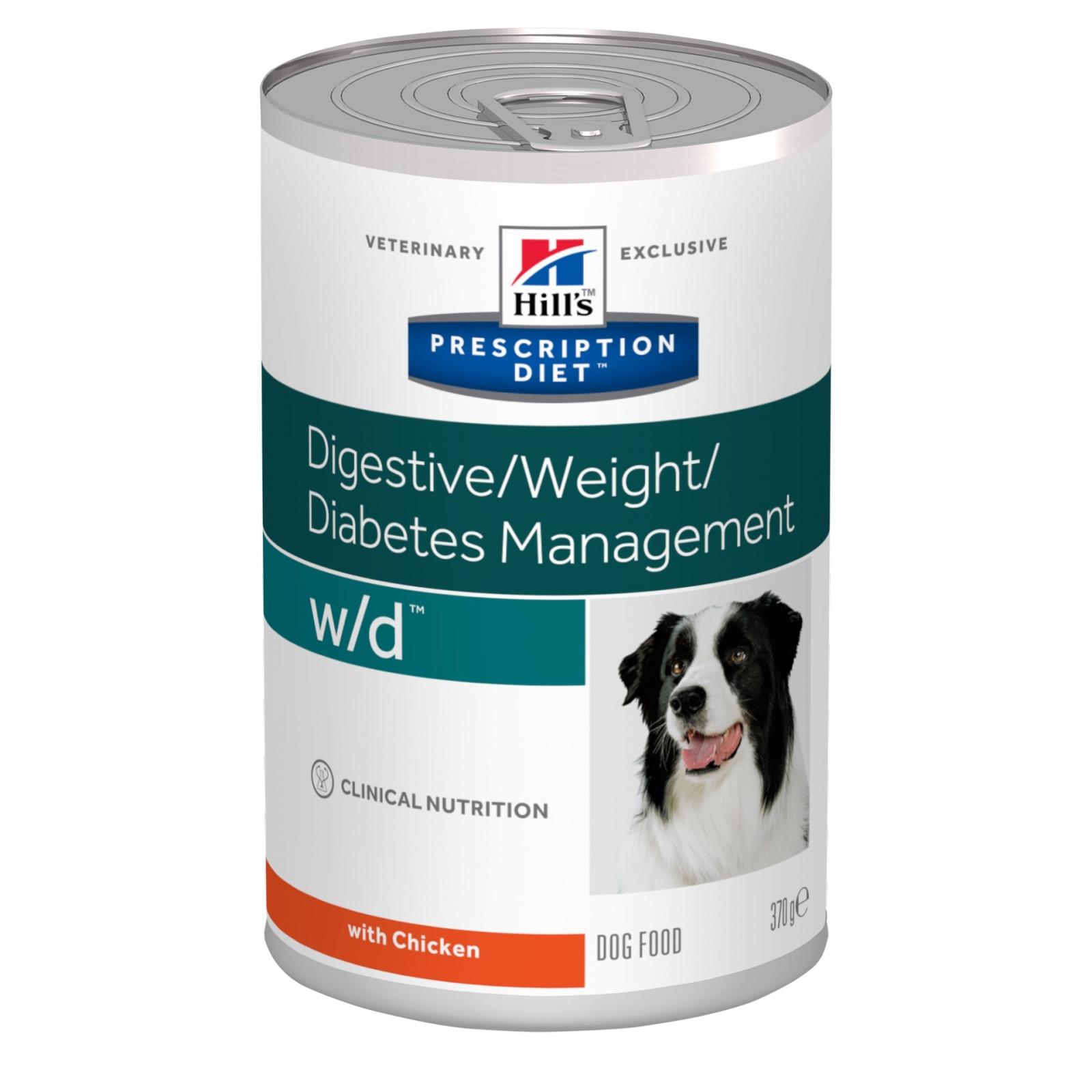 Hill's PD Canine w/d Controlul Greutatii, 370 g