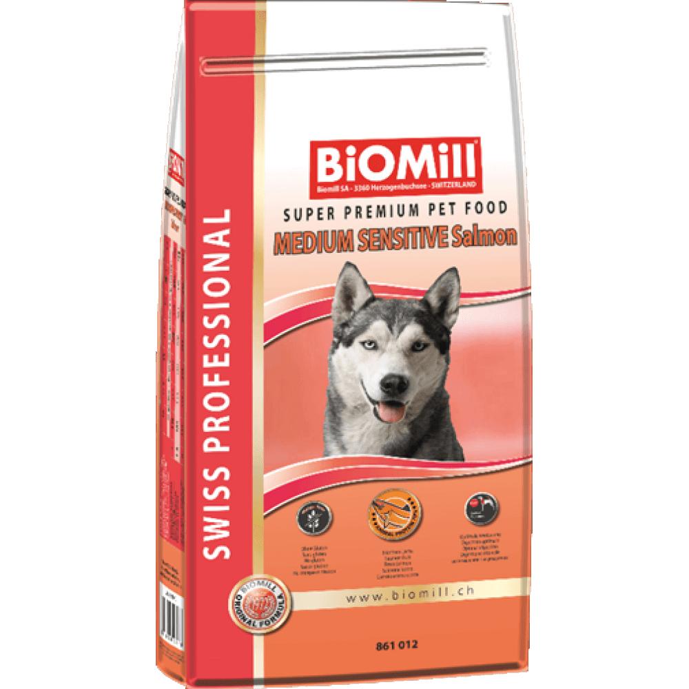 Biomill Swiss Professional Adult Mini Sensitive Somon 1 kg