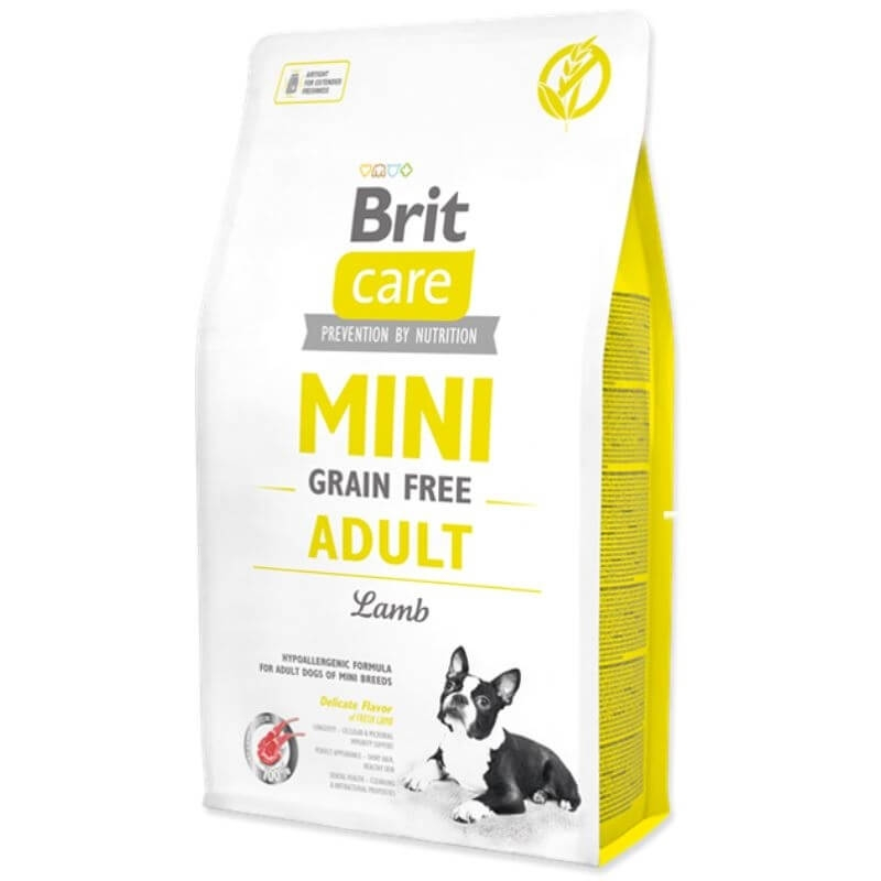 Brit Care Mini Grain Free Adult Lamb, 7 Kg