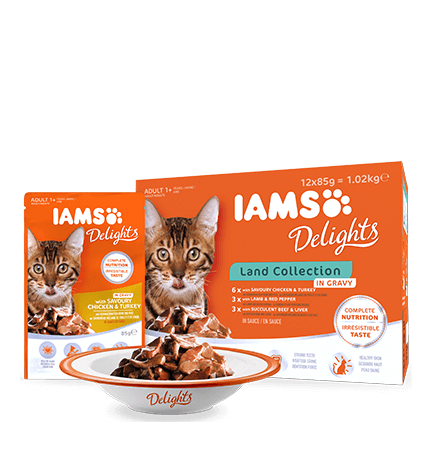 Iams Delights Cat Land Collection Multipack, 12x85 g